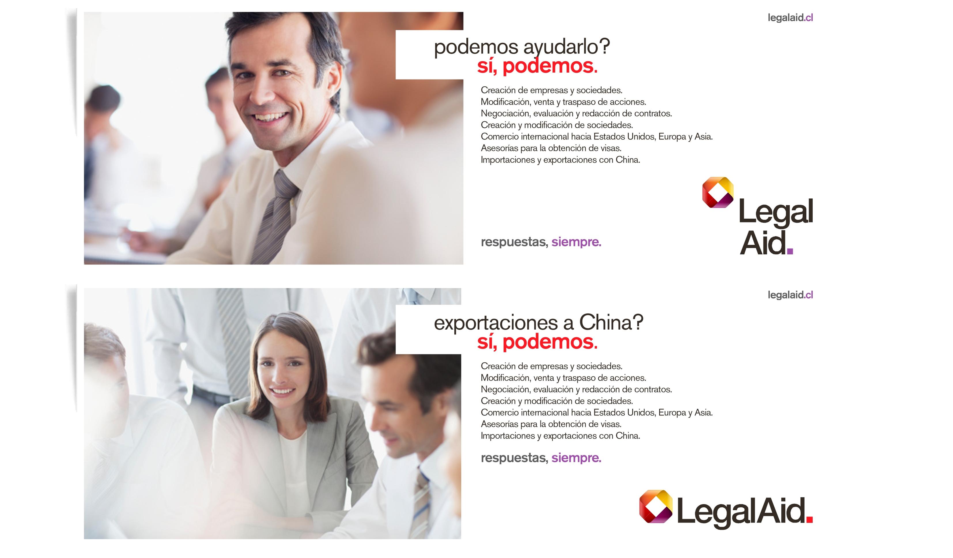 Estudio Branding LEGAL Aid 3E