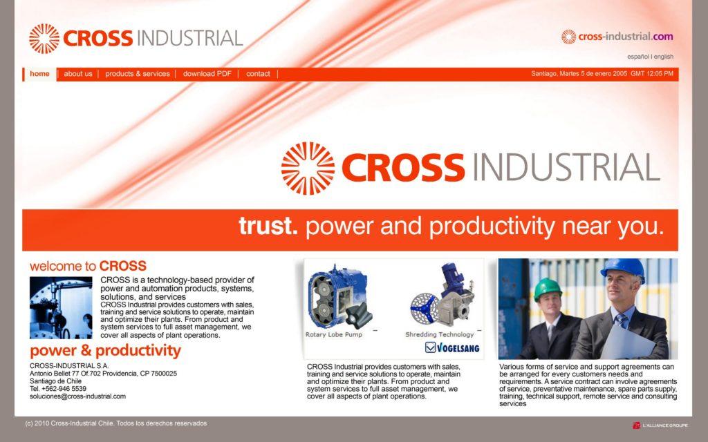 Studio Website CROSS4