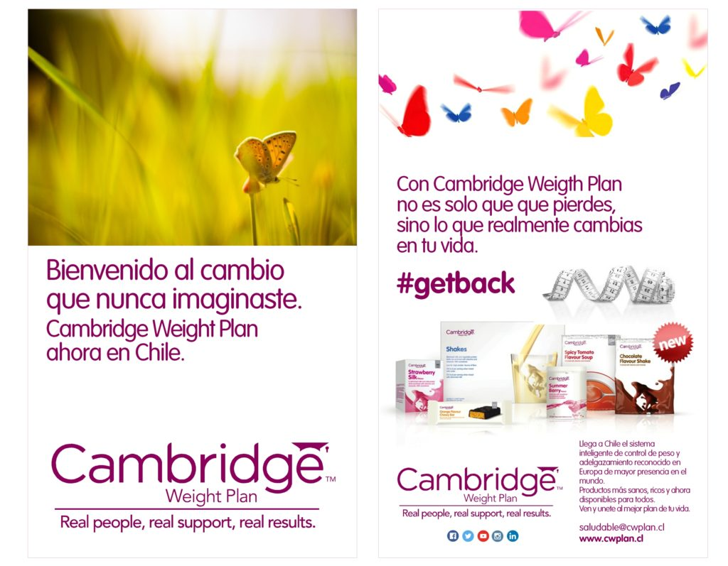 Branding Cambridge Diet 4