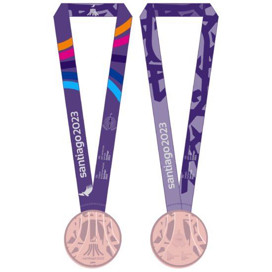 2023 PanAm Games Medals BRONZE