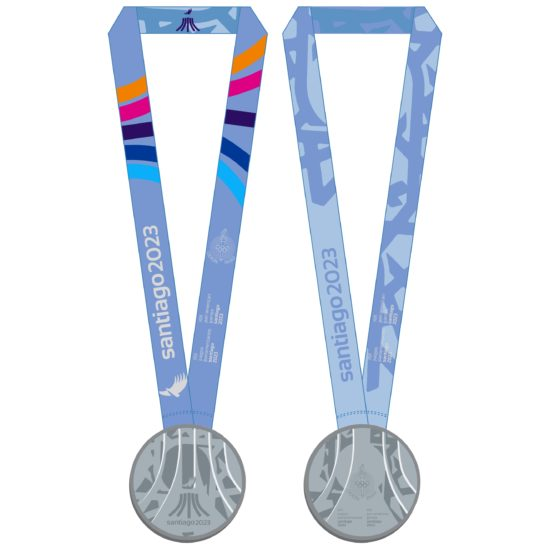 2023 PanAm Games Medals SILVER