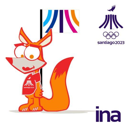 PanAm Games Santiago 2023 Mascota Ina