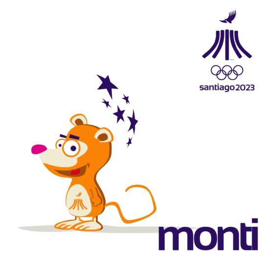 PanAm Games Santiago 2023 Mascota Monti