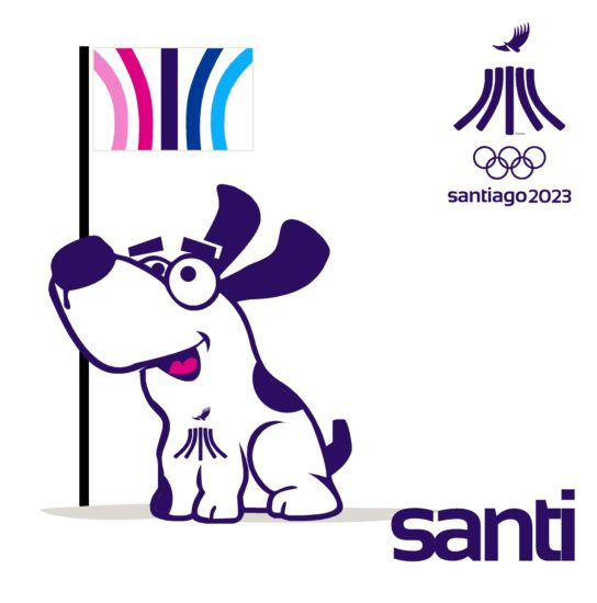 PanAm Games Santiago 2023 Mascota Santi