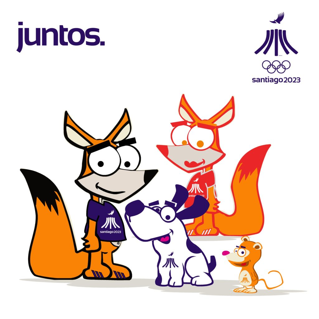 PanAm Games Santiago 2023 Mascotas Friends4