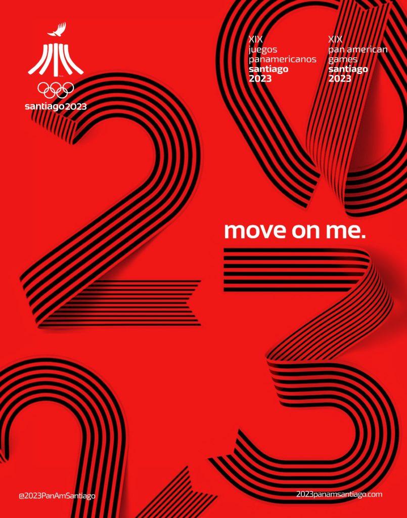 2023 Juegos Panamericanos Santiago Numbers Official 4