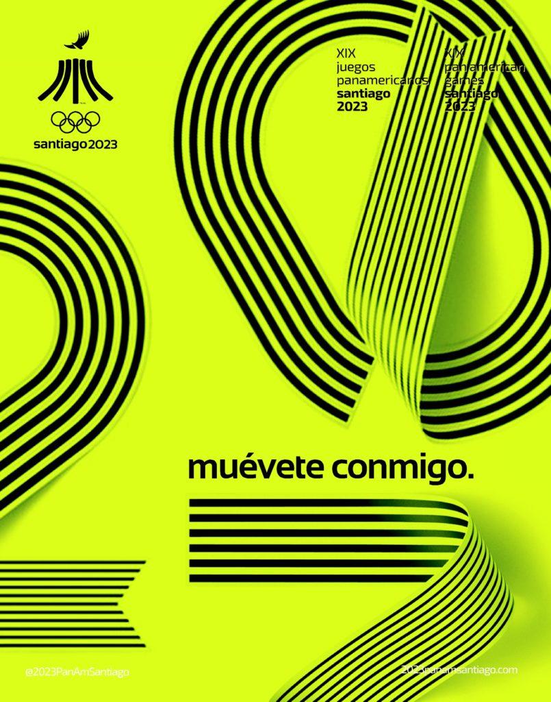 2023 Juegos Panamericanos Santiago Numbers Official 8