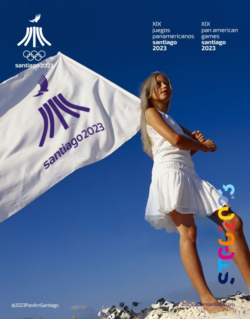 2023 PanAm Games Santiago 2023 Official Flags 1