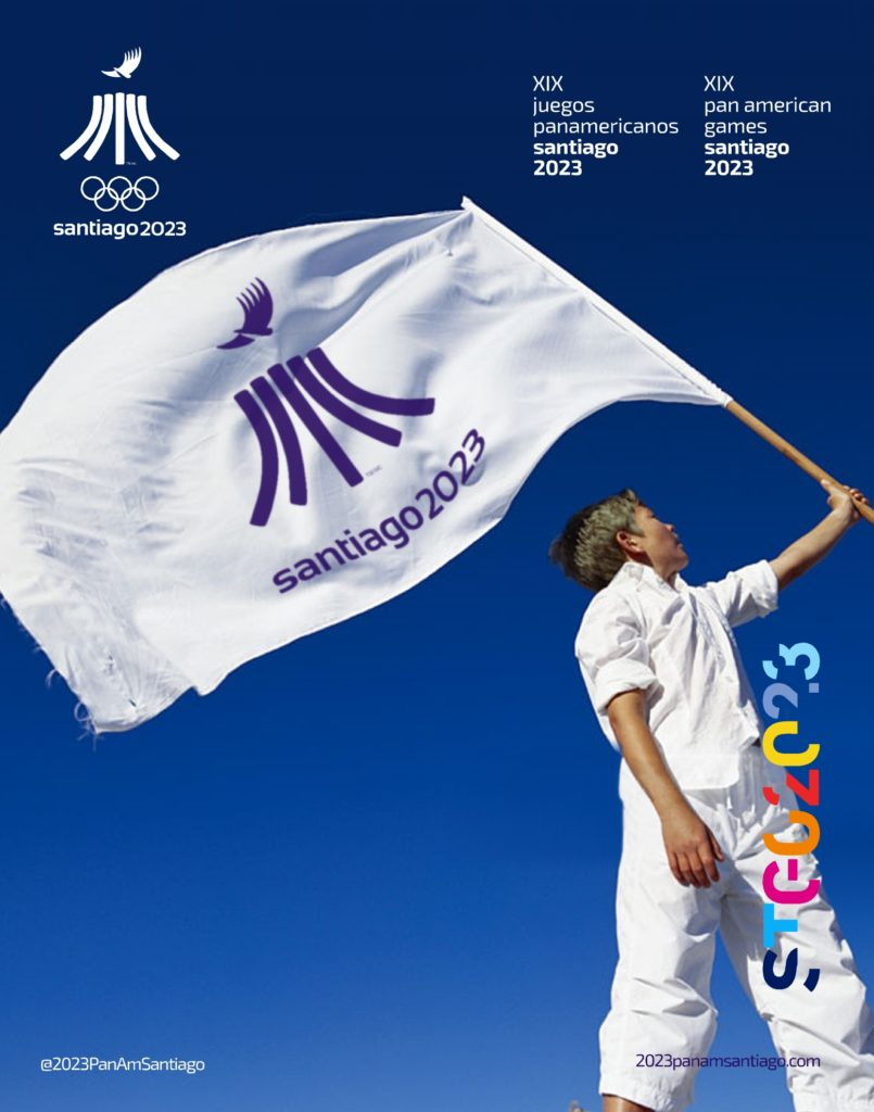 2023 PanAm Games Santiago 2023 Official Flags 2