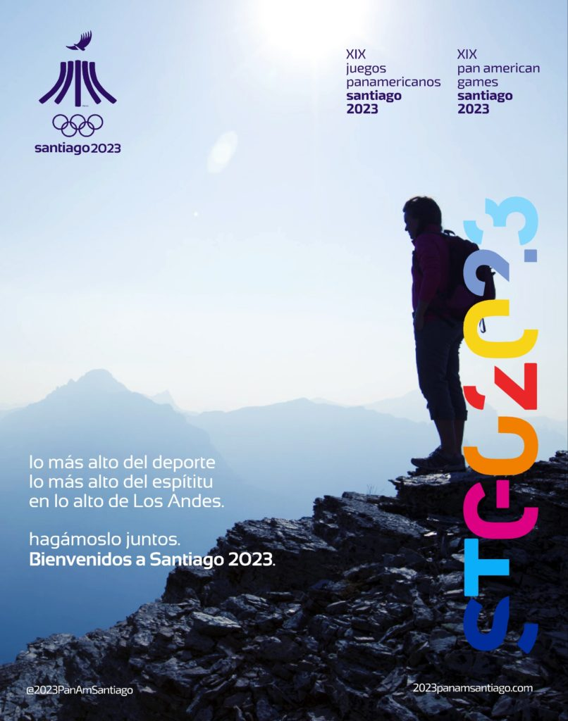 2023 PanAmGames Official PosterB Español