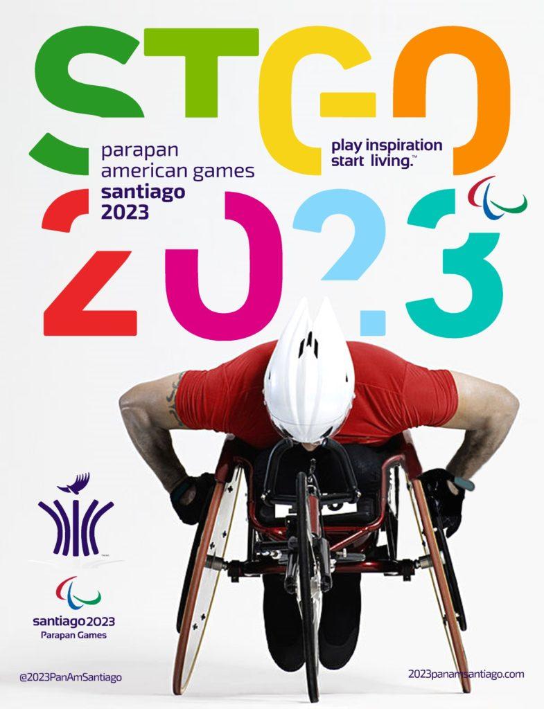 2023 Parapam Games Santiago Poster
