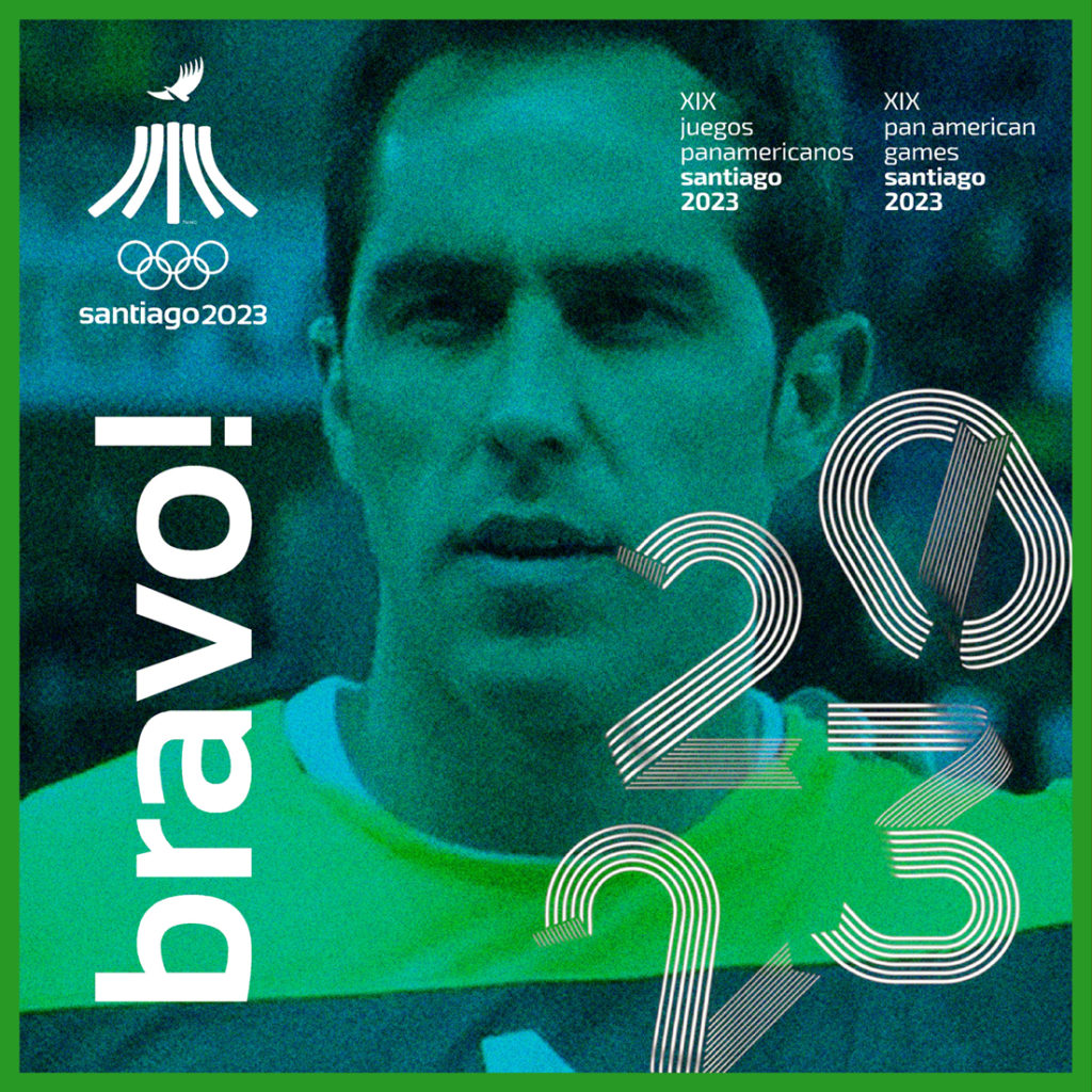 2023 CLAUDIO BRAVO JUEGOS PANAMERICANOS SANTIAGO CUBE