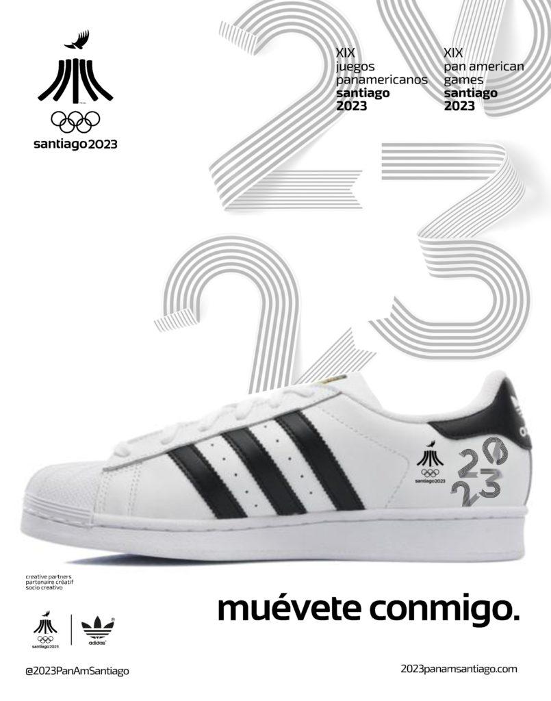 2023 JUEGOS PANAMERICANOS SANTIAGO NUMBERS ADIDAS 3