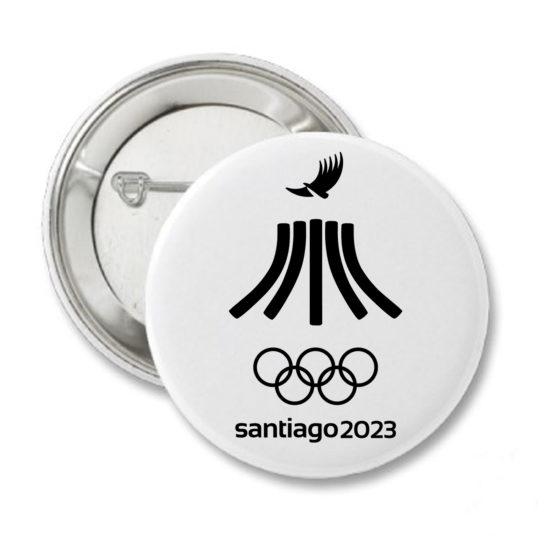 2023 PIN OFICIAL1 JUEGOS PANAMERICANOS SANTIAGO