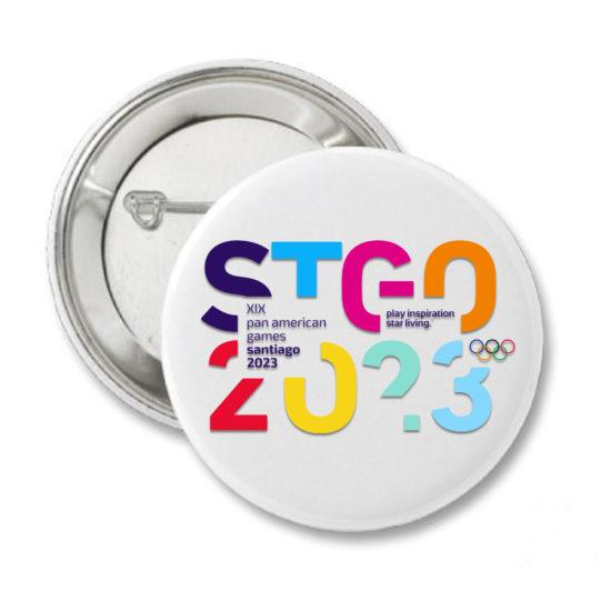 2023 PIN STGO JUEGOS PANAMERICANOS SANTIAGO