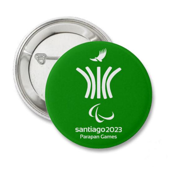2023 PIN VERDE JUEGOS PANAMERICANOS SANTIAGO