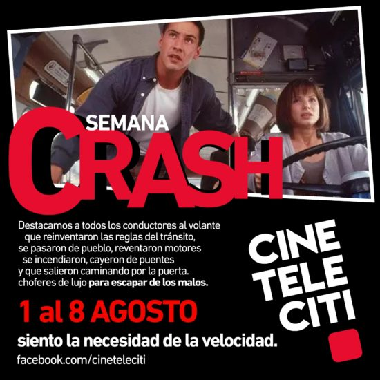 CINETELECITI Campaign CRASH