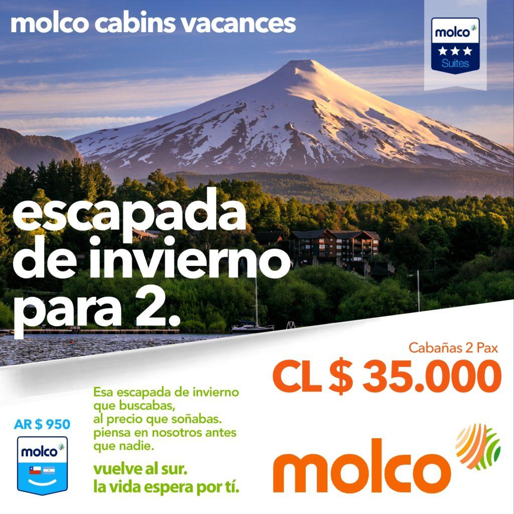 Molco Cabins Promo1 PAX2 Facebook