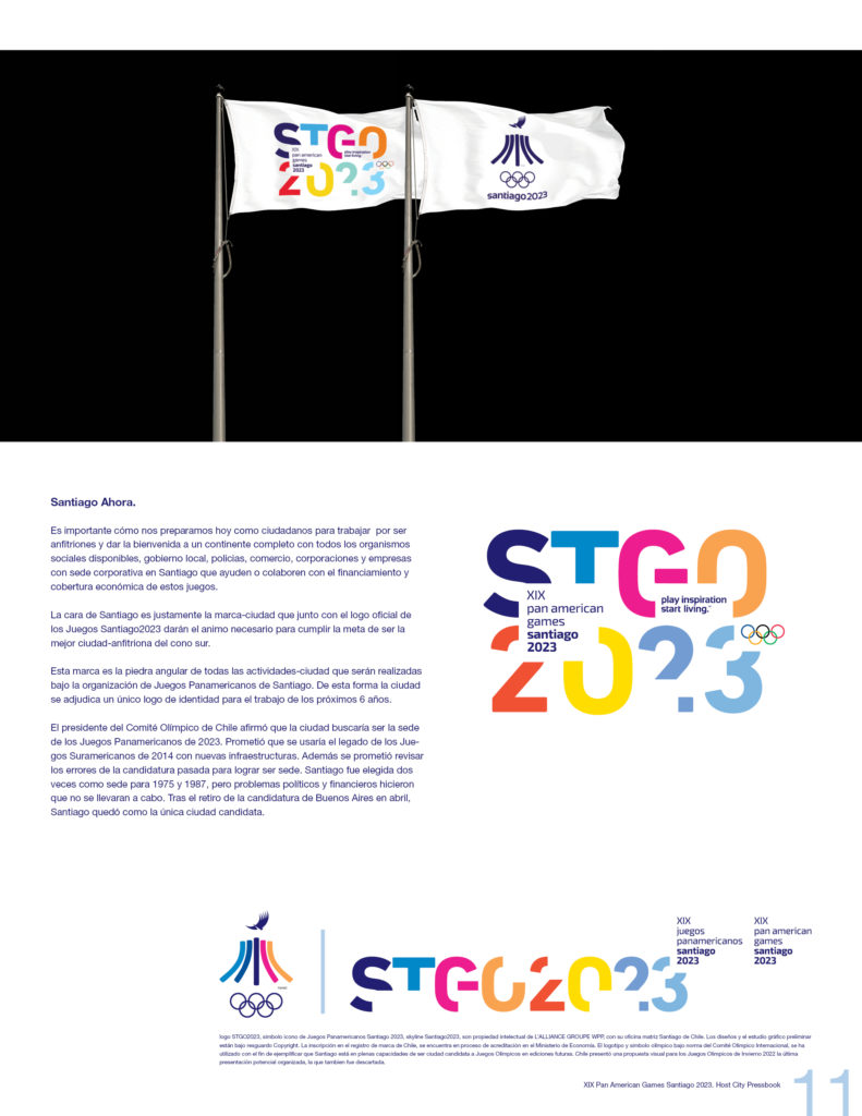 2023 PAN AMERICAN GAMES SANTIAGO OFFICIAL PRESSBOOK VISUAL DEF PRINT11