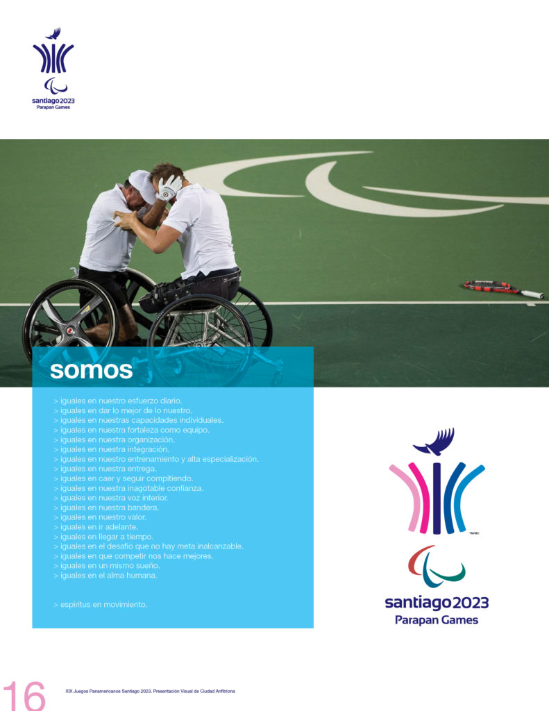 2023 PAN AMERICAN GAMES SANTIAGO OFFICIAL PRESSBOOK VISUAL DEF PRINT16