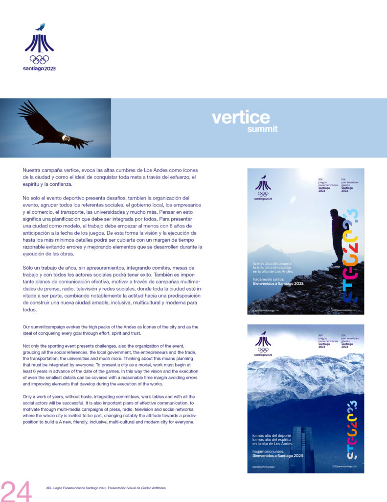 2023 PAN AMERICAN GAMES SANTIAGO OFFICIAL PRESSBOOK VISUAL DEF PRINT24
