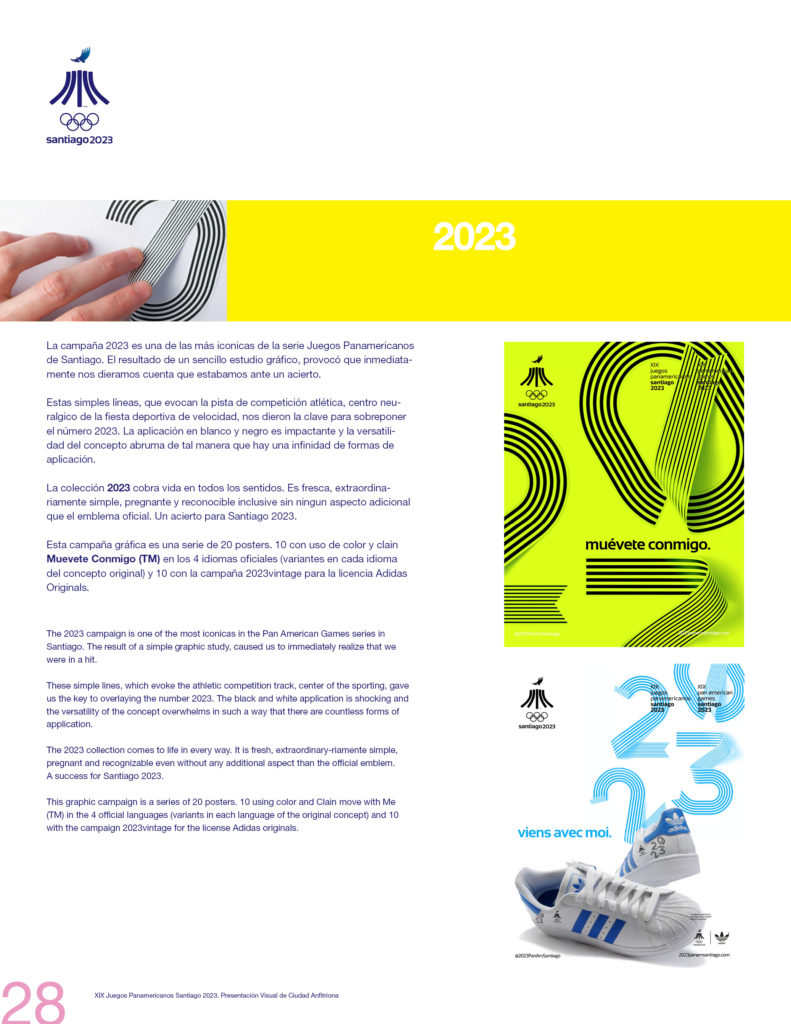 2023 PAN AMERICAN GAMES SANTIAGO OFFICIAL PRESSBOOK VISUAL DEF PRINT28