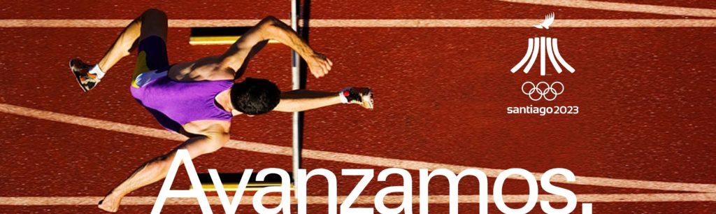 Banner Juegos Panamericanos Santiago 2023 Avanzamos B