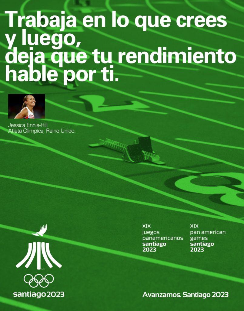 Juegos Panamericanos Santiago 2023 Avanzamos CC
