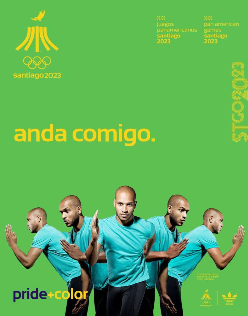 Juegos Panamericanos Santiago 2023 anda comigo simple