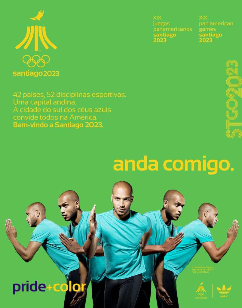 Juegos Panamericanos Santiago 2023 andacomigo
