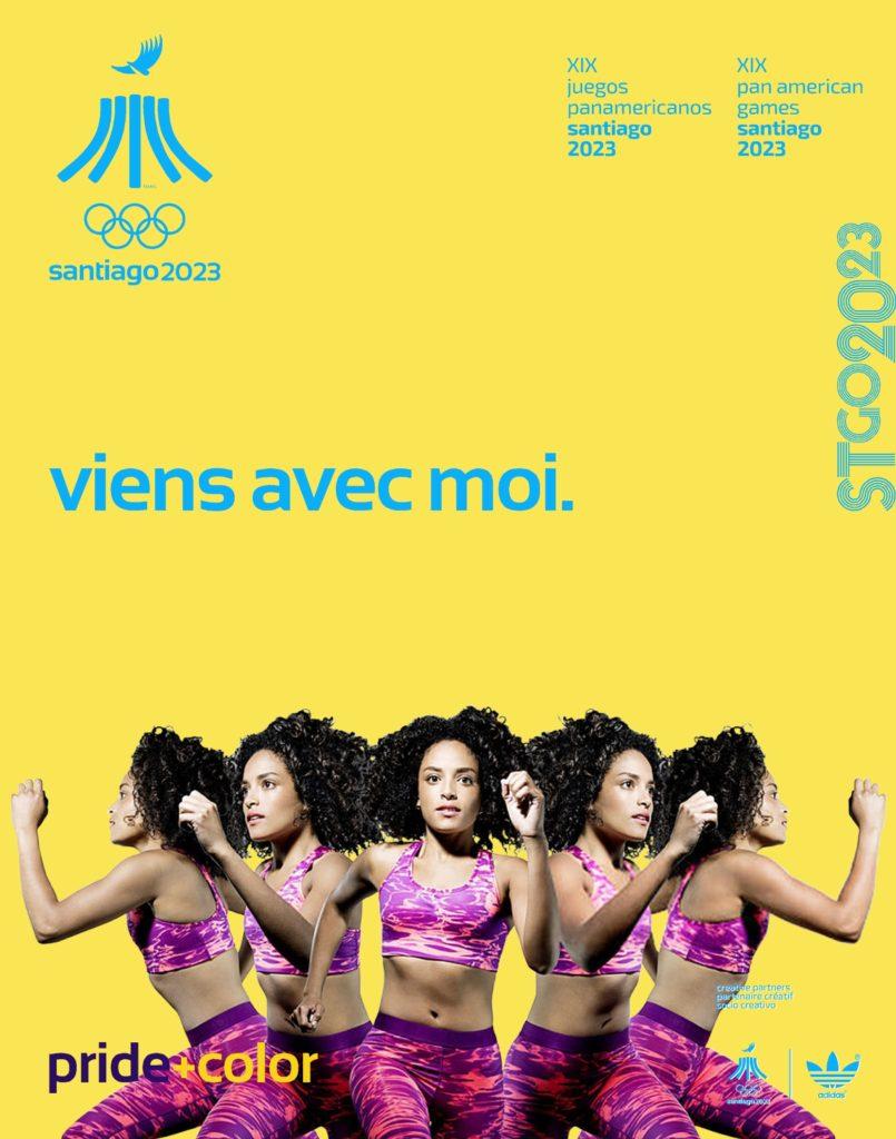 Juegos Panamericanos Santiago 2023 avec moi simple
