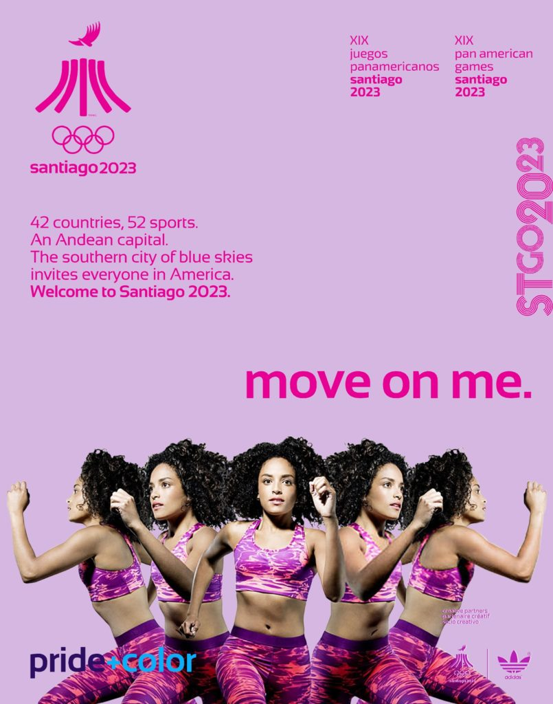 Juegos Panamericanos Santiago 2023 move on me