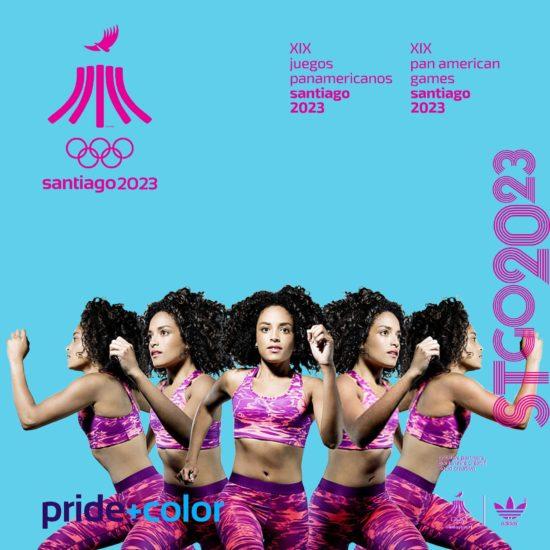 Juegos Panamericanos Santiago 2023 move on me cube1