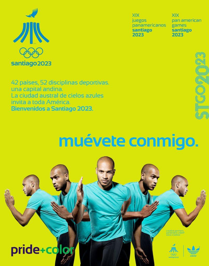 Juegos Panamericanos Santiago 2023 muevete conmigo