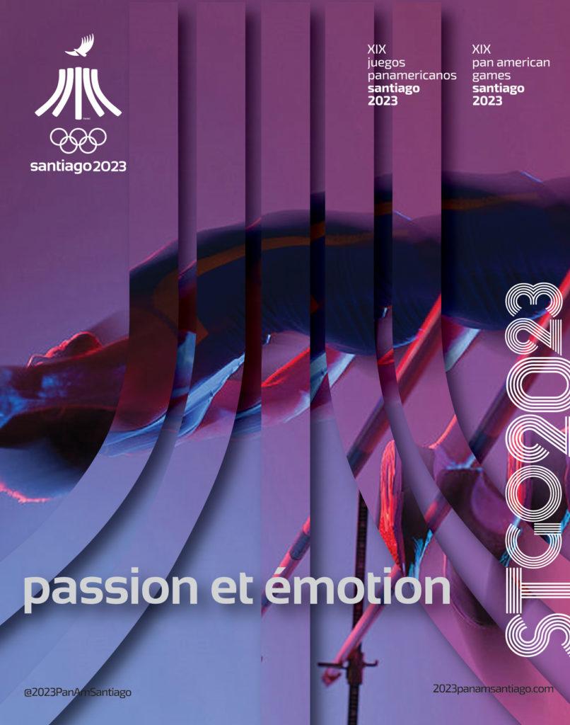 Juegos Panamericanos Santiago 2023. Pasión + Emoción
