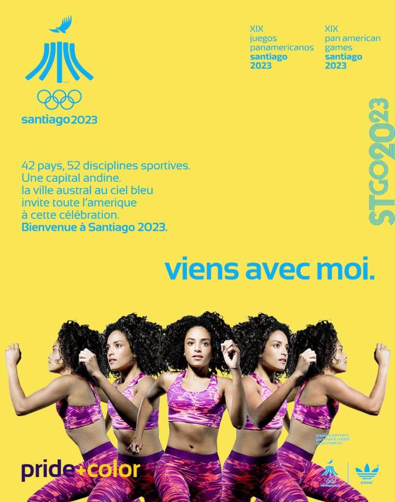 Juegos Panamericanos Santiago 2023 viensavecmoi