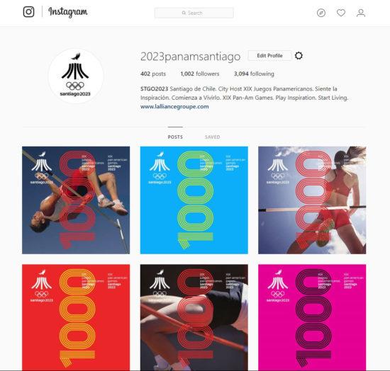 Juegos Panamericanos Santiago 2023 1000 instagram 7