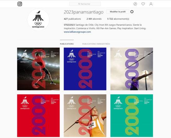 Juegos Panamericanos Santiago 2023 2000 instagram 91