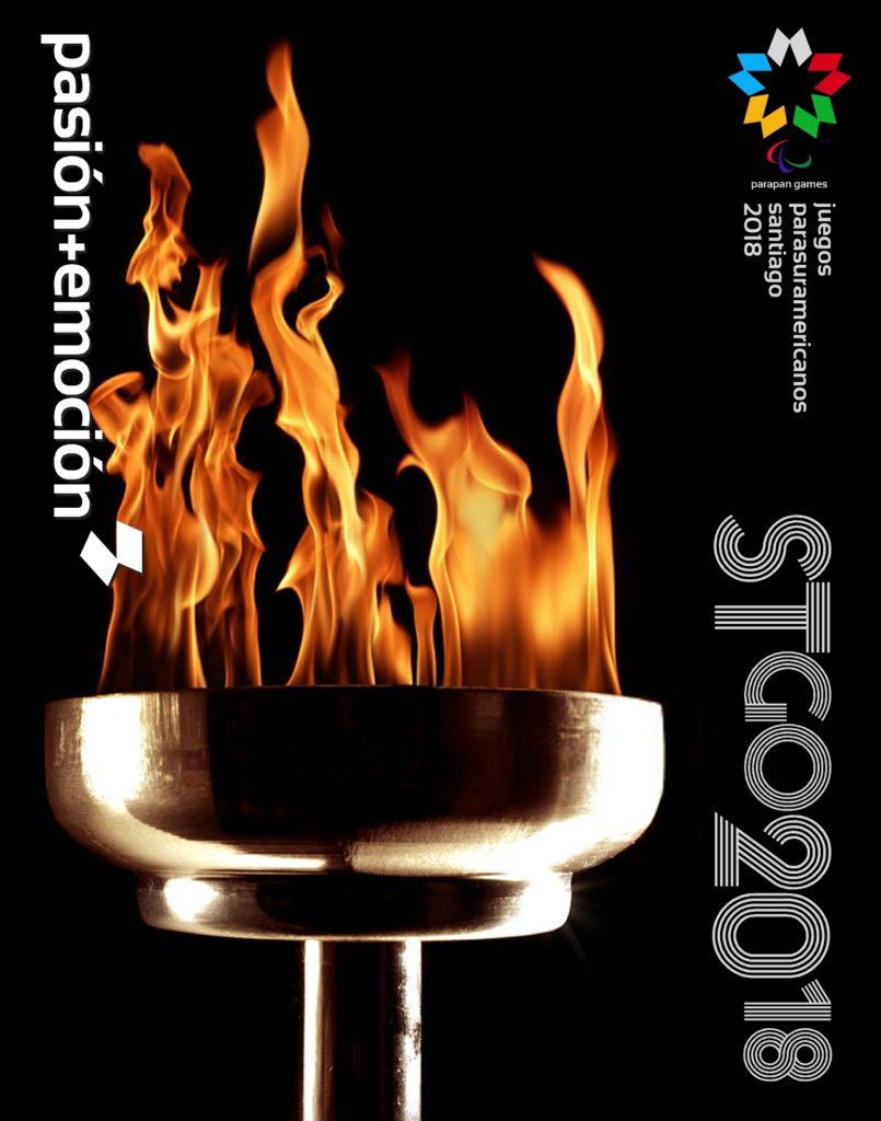 2018 Juegos Parasuramericanos Santiago Poster 1