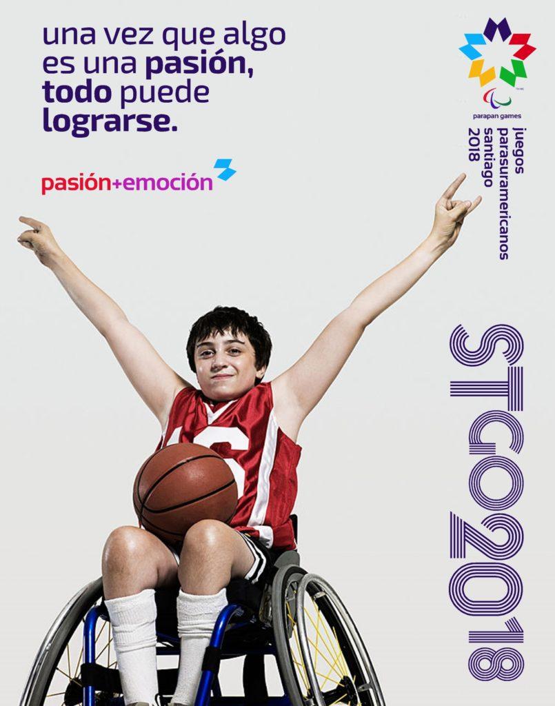 2018 Juegos Parasuramericanos Santiago Poster 2