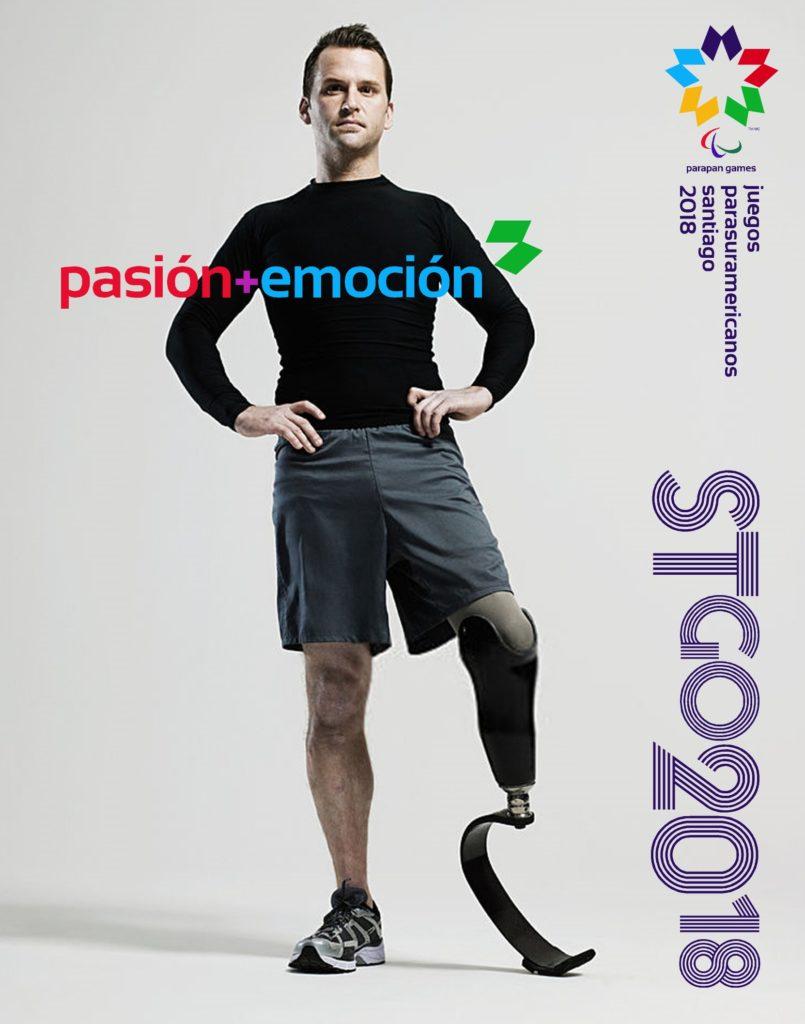 2018 Juegos Parasuramericanos Santiago Poster 3