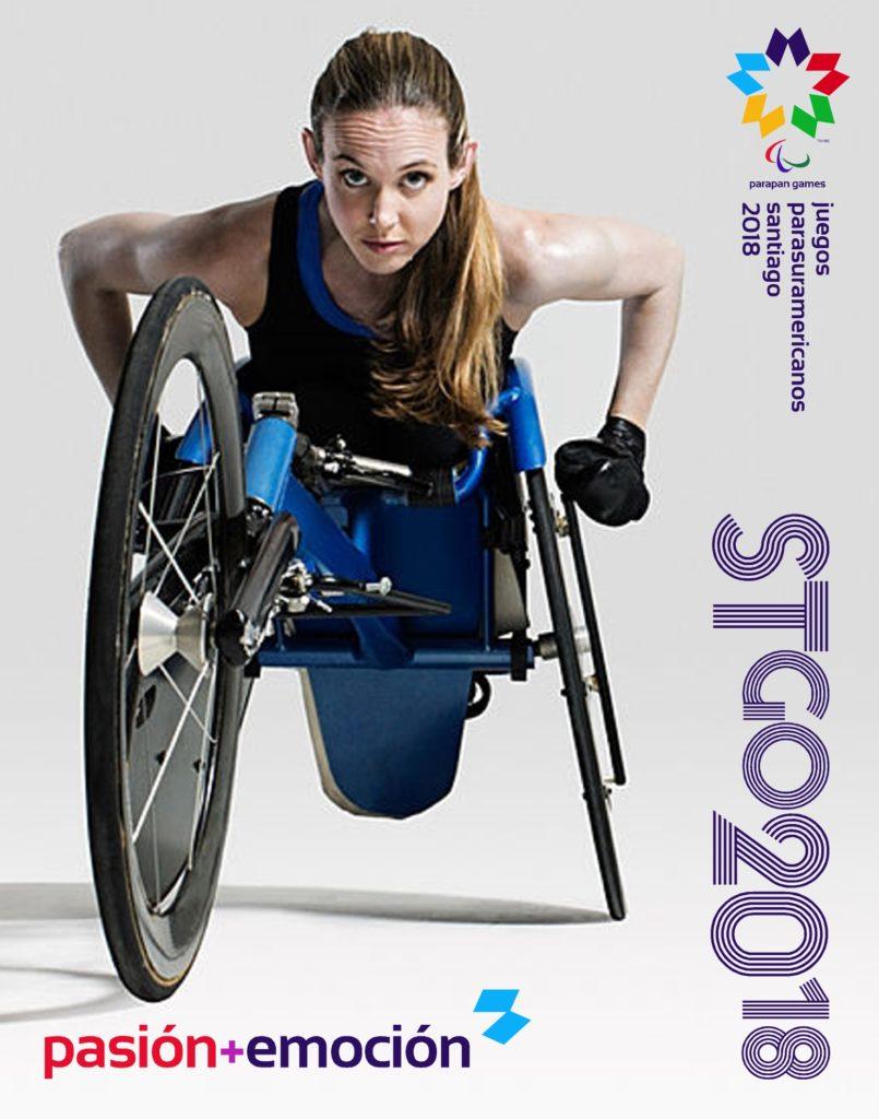 2018 Juegos Parasuramericanos Santiago Poster 5