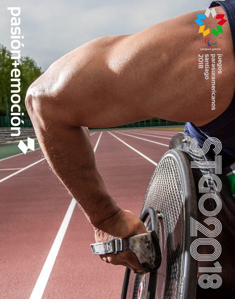 2018 Juegos Parasuramericanos Santiago Poster 6