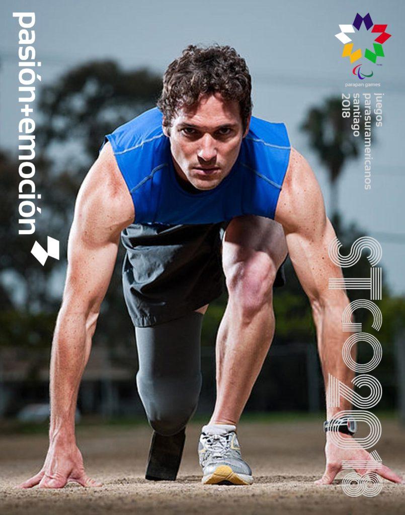 2018 Juegos Parasuramericanos Santiago Poster 7