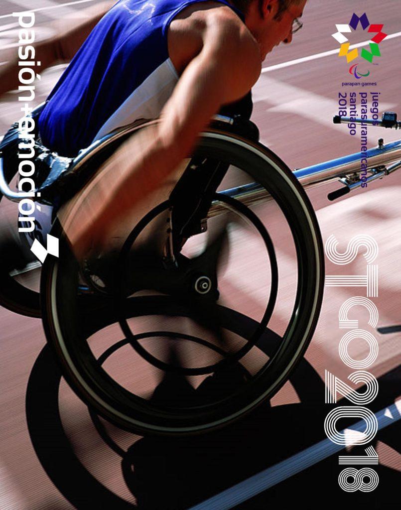 2018 Juegos Parasuramericanos Santiago Poster 91