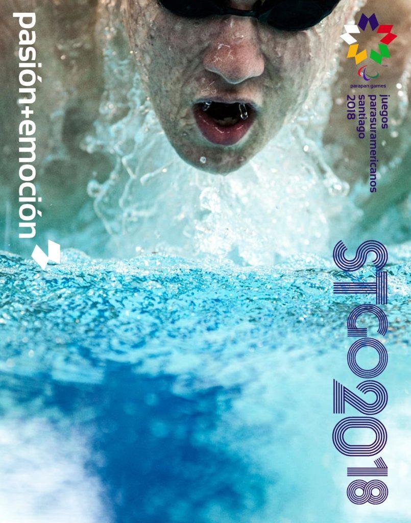 2018 Juegos Parasuramericanos Santiago Poster 93