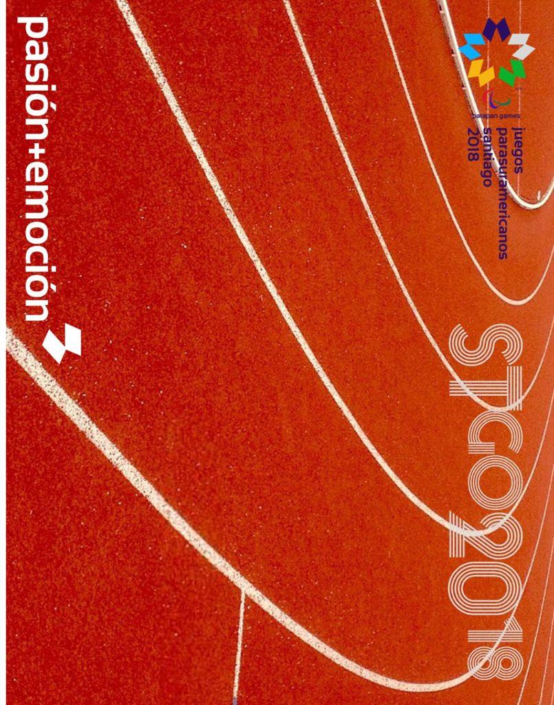 2018 Juegos Parasuramericanos Santiago Poster 94