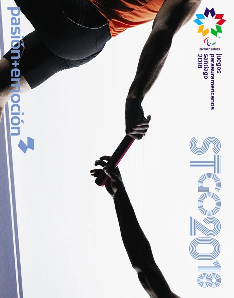 2018 Juegos Parasuramericanos Santiago Poster 95