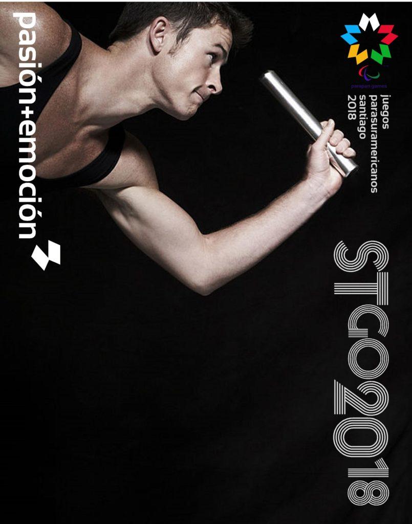 2018 Juegos Parasuramericanos Santiago Poster 96