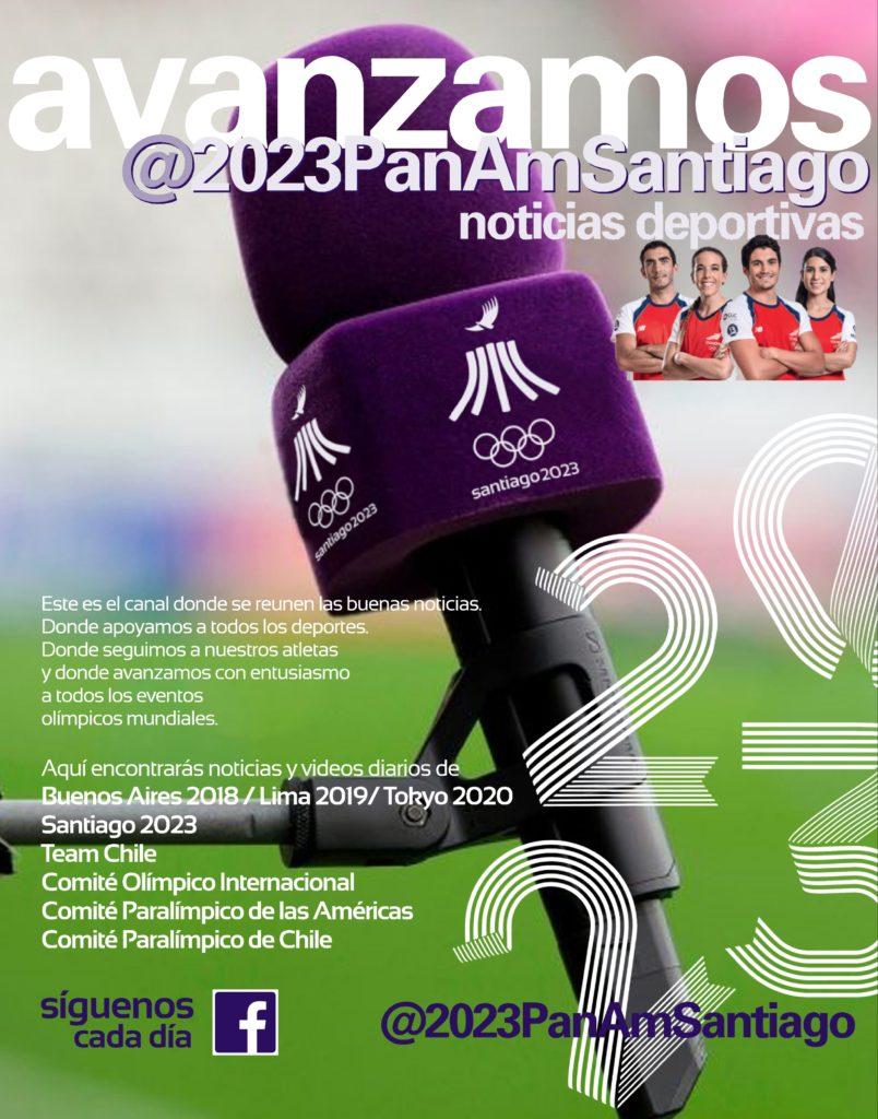 Avanzamos Juegos Panamericanos Santiago 2023 noticias deportivas 95